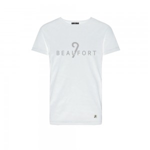 9 Beaufort - T-shirt - White