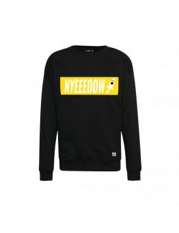 9 BFT - Nyeeeoowww - Sweater - Black