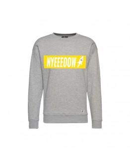 9 BFT - Nyeeeoowww - Sweater - Grey