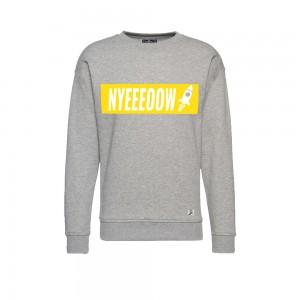 9 BFT - Nyeeeoowww - Sweater - Grey