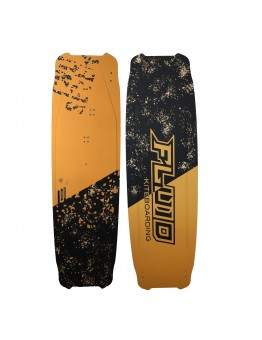 Fluid kiteboarding  Twoseven metallic gold