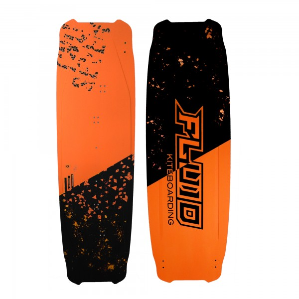 Fluid kiteboarding  Twoseven Metallic Orange