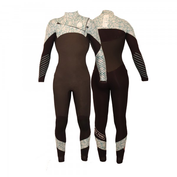 9BFT -  Wild Thing Womens wetsuit - 5/4mm
