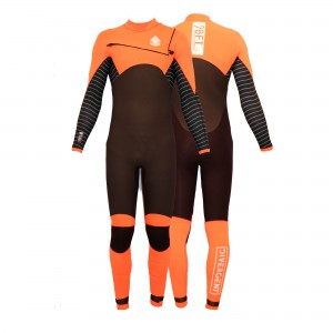 9BFT - Divergent wetsuit - 5/4mm - ORANGE